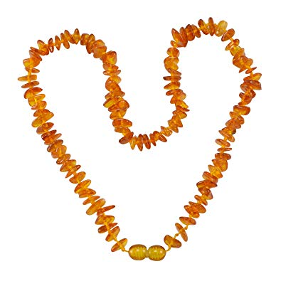 Buy Silvesto India Natural Amber Necklace PG.