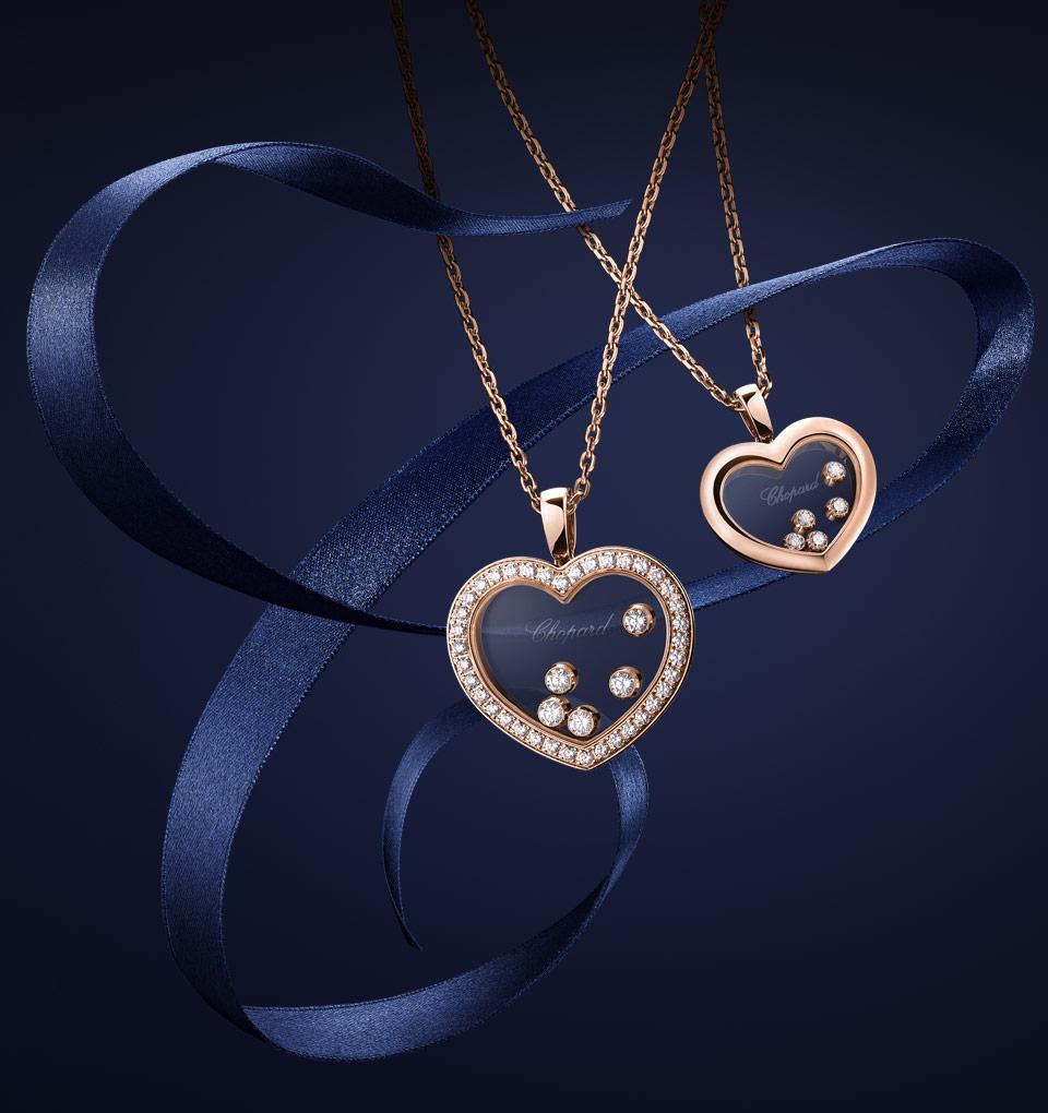 Chopard Luxury Jewelry : Diamond and Gold Jewelry.