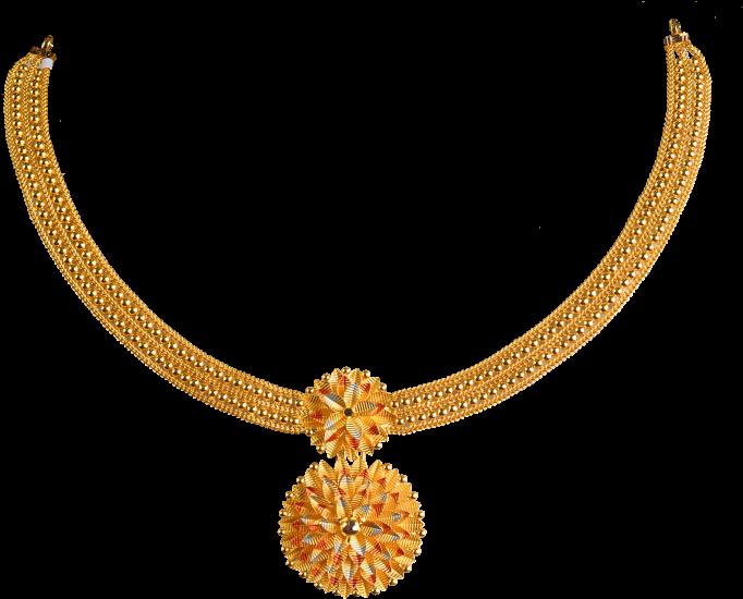 Necklace Design Png File.