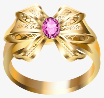 Free Gold Ring Clip Art with No Background.