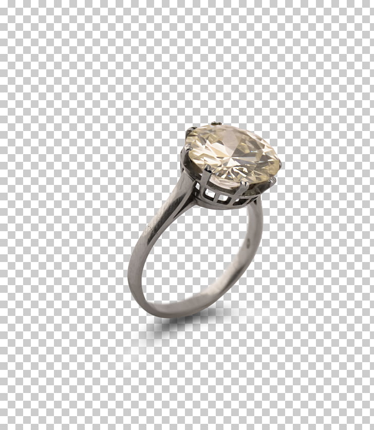 Body Jewellery Silver Diamond, silver PNG clipart.
