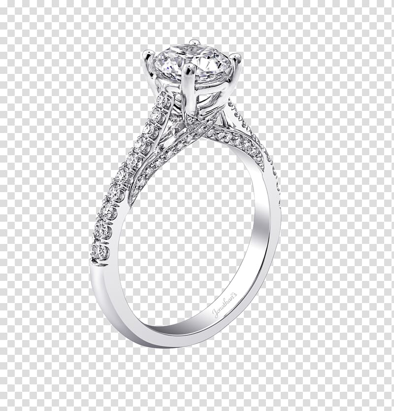 Silver Wedding ring Body Jewellery, silver transparent.
