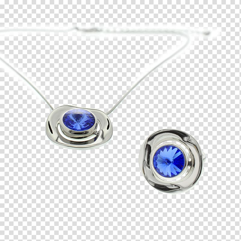Sapphire Earring Necklace Jewellery Gift, i love you mom.