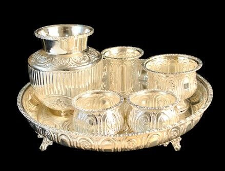 Silver pooja items download free clipart with a transparent.
