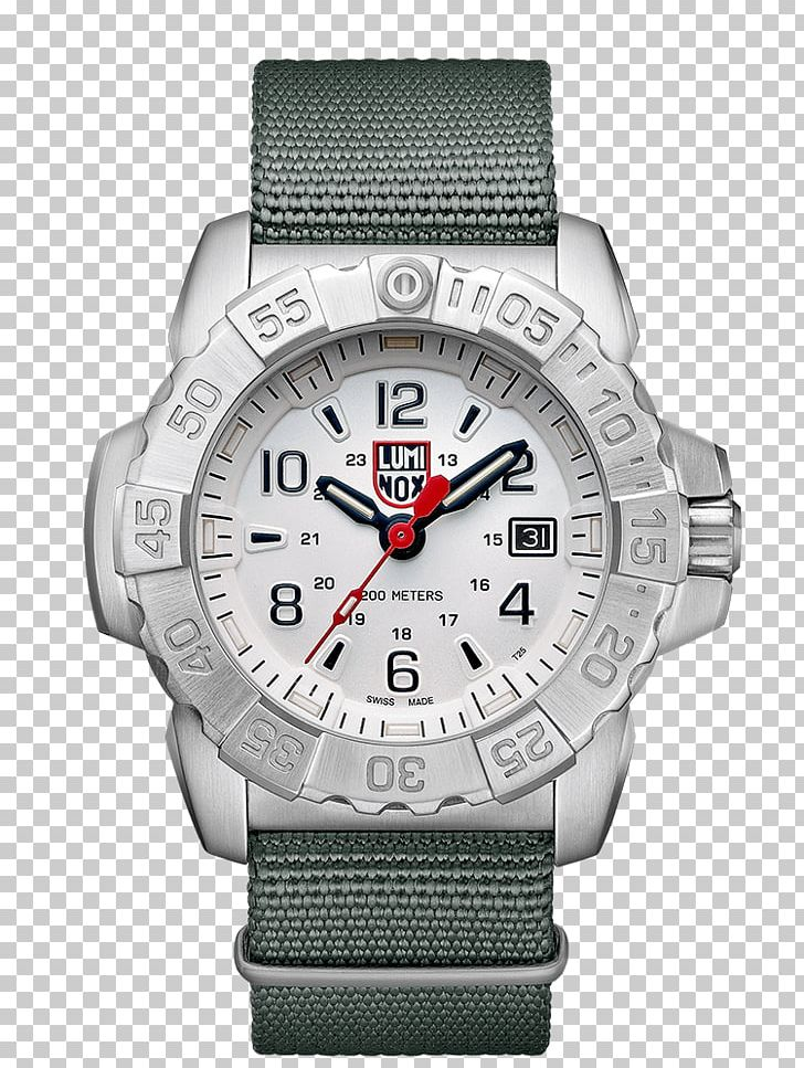 Luminox United States Navy SEALs Watch Retail Jewellery PNG.