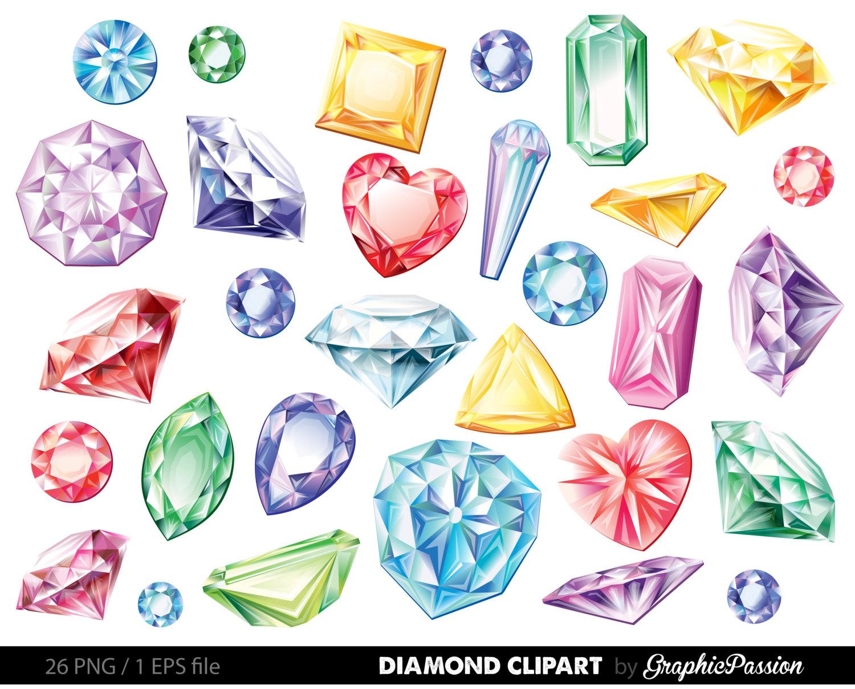 Gemstone Clipart.