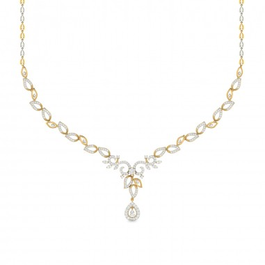 Buy Diamond Necklaces Online in Latest 2020 Designs at Best.