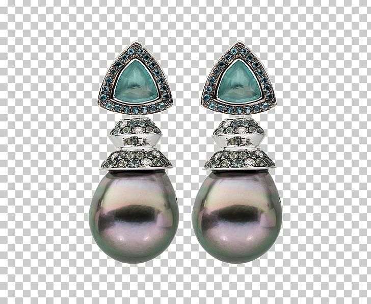 Earring Emerald Jewellery Turquoise Pearl PNG, Clipart, Body.