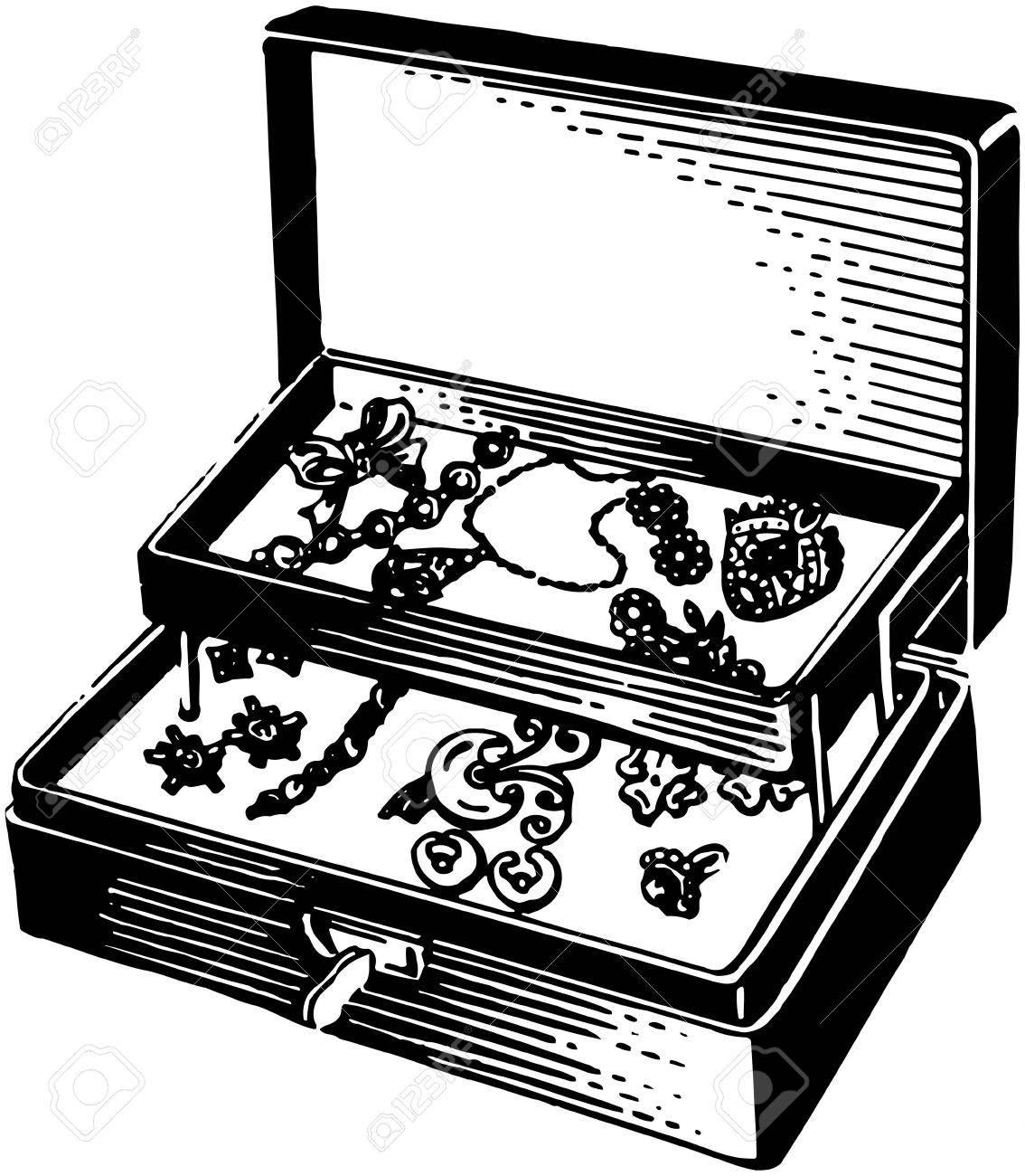 Silver Jewelry Box.