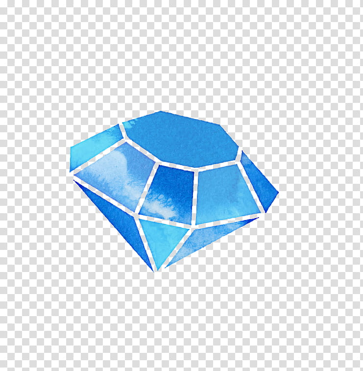 Jewels, blue diamond art illustration transparent background PNG.