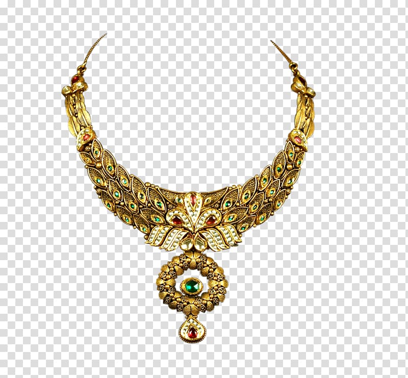 Jewellery Necklace Estate jewelry Gold, jewelry transparent.