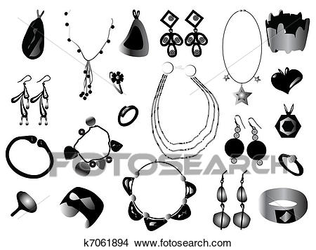 Jewelry Clipart.