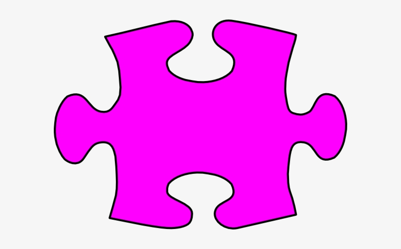 Lil Jigsaw Puzzle Piece Large Clip Art At Clker.