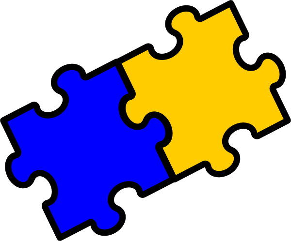 Puzzle Pieces Clip Art at Clker.com.