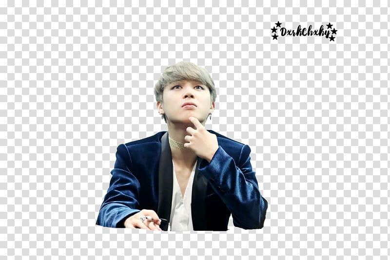 Jimin BTS transparent background PNG clipart.