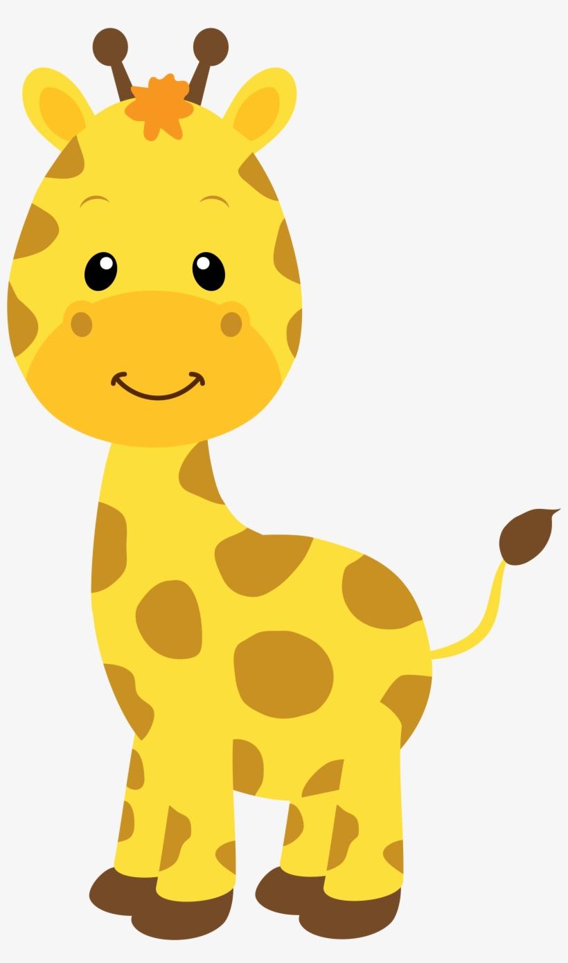 Happy Giraffe Day Valentine Clipart.