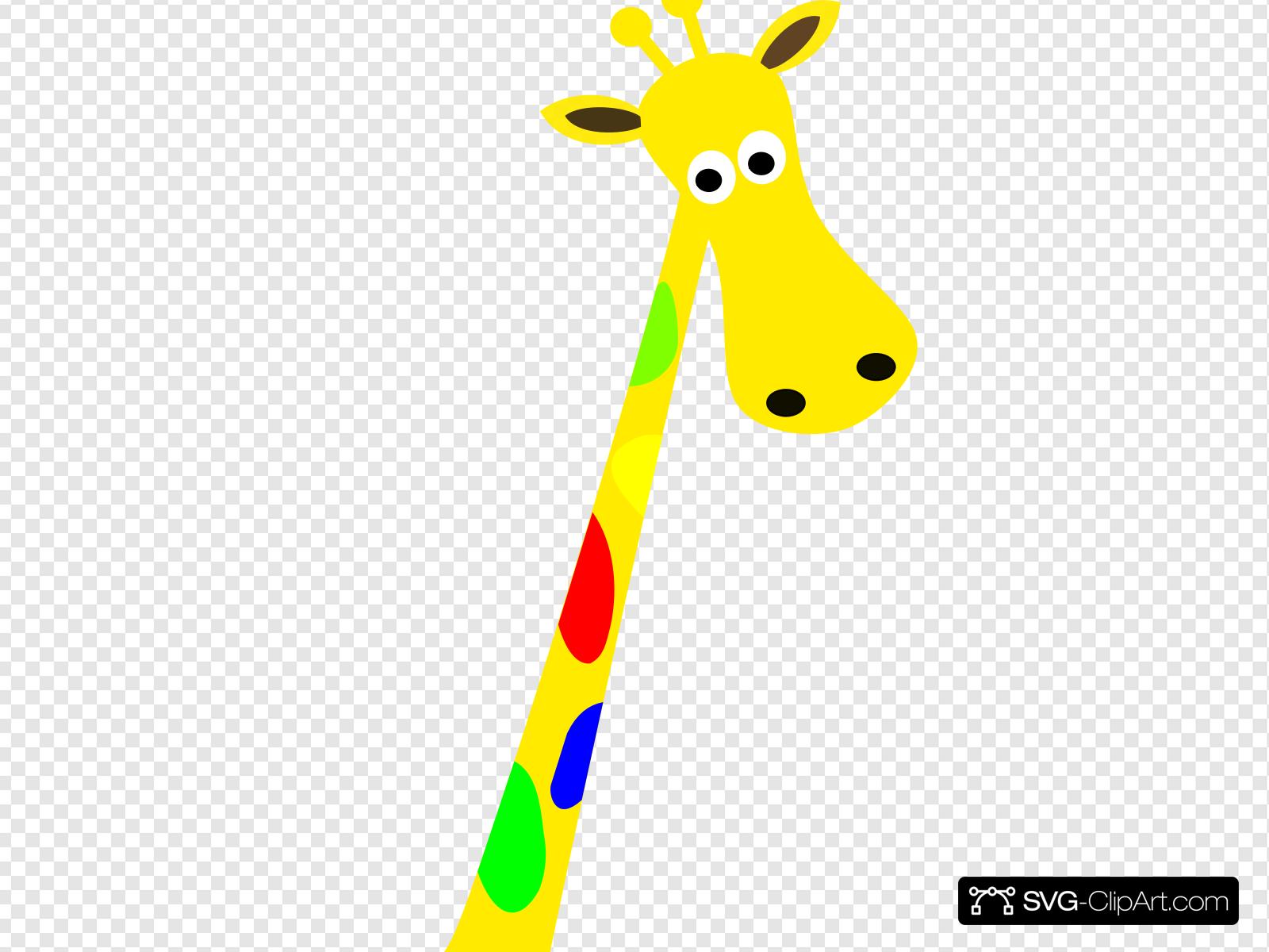 Jirafa Clip art, Icon and SVG.