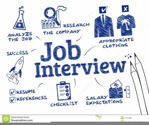 Job Interview Clipart.