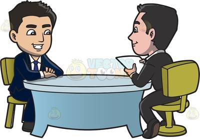 Job interview clipart 3 » Clipart Station.
