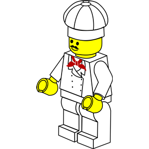 LEGO town.
