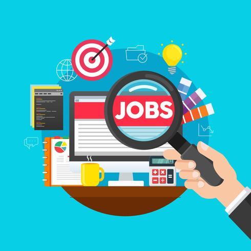 Online Job Searching.