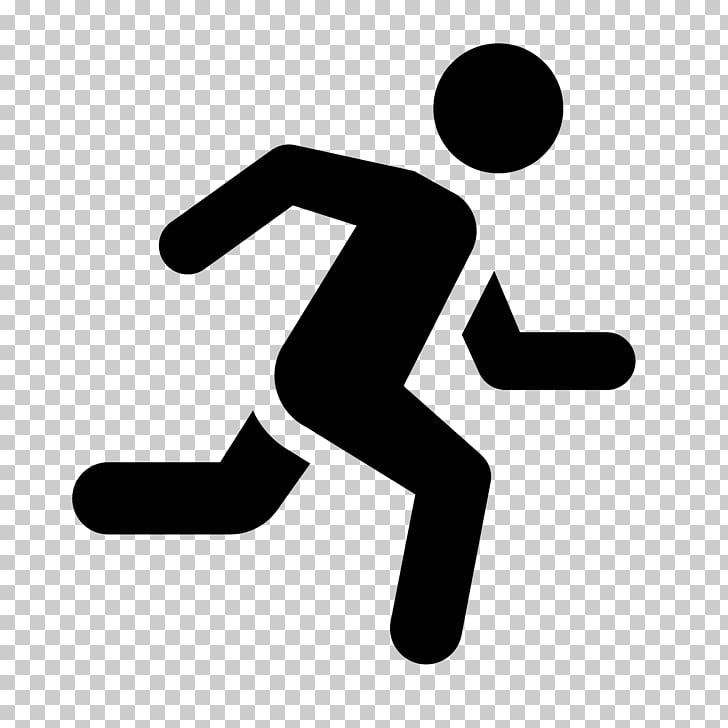 Computer Icons Running Man , jogging, person running sign.