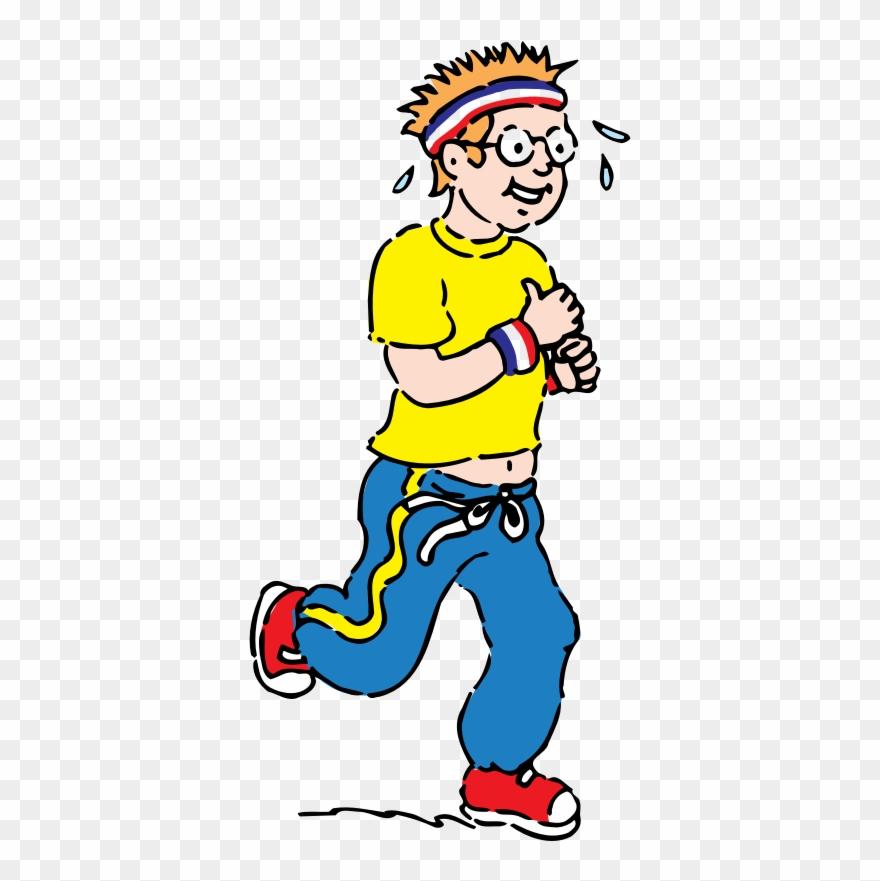 Jogging Clipart.