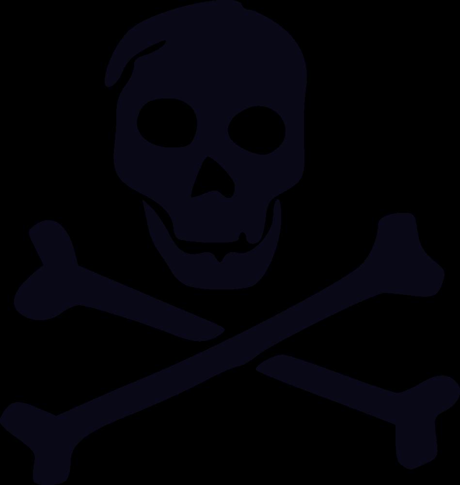 Jolly Roger Pirate Skull and crossbones Clip art Flag.