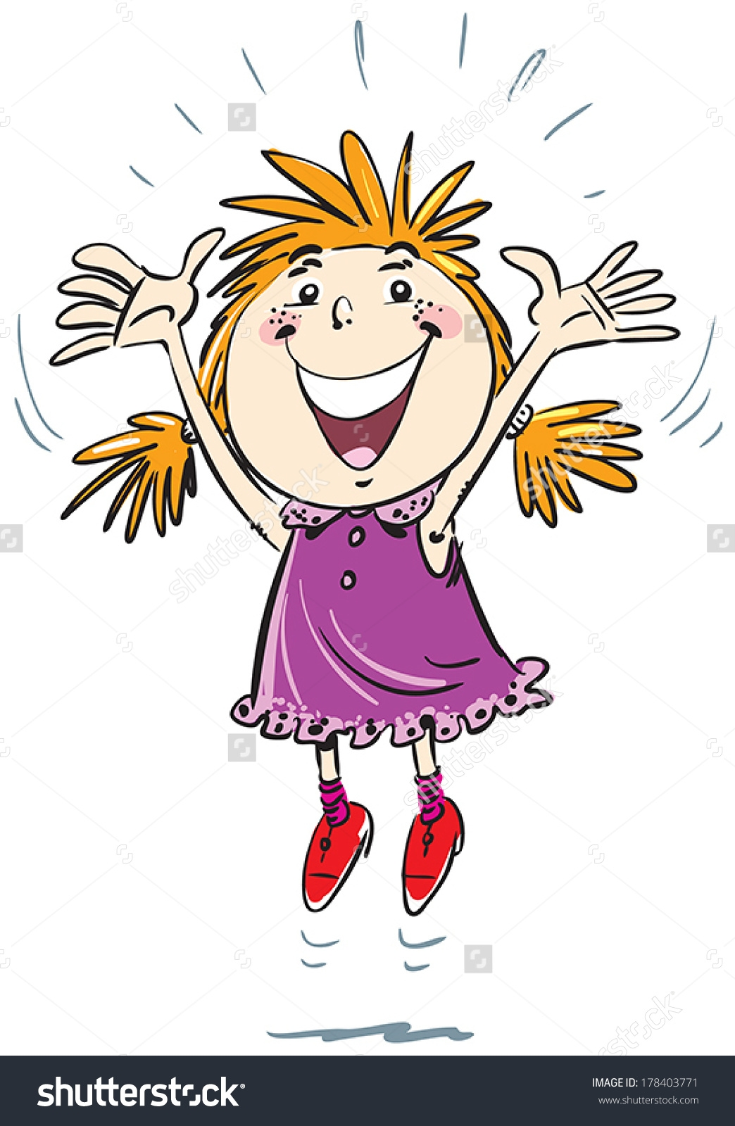 Joy clipart Luxury Girl jumping for joy clipart free Clip.