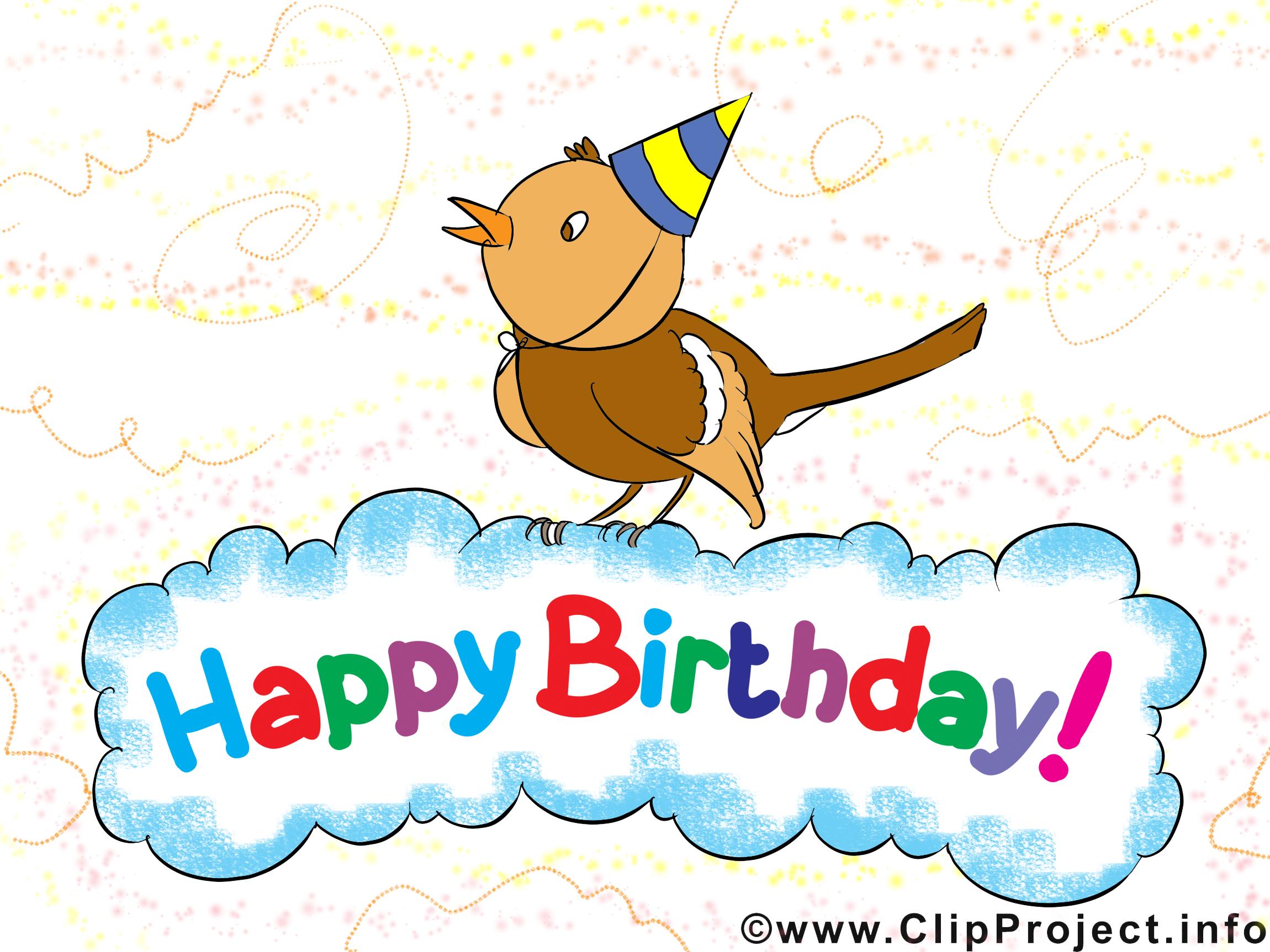 Joyeux anniversaire images gratuites clipart.