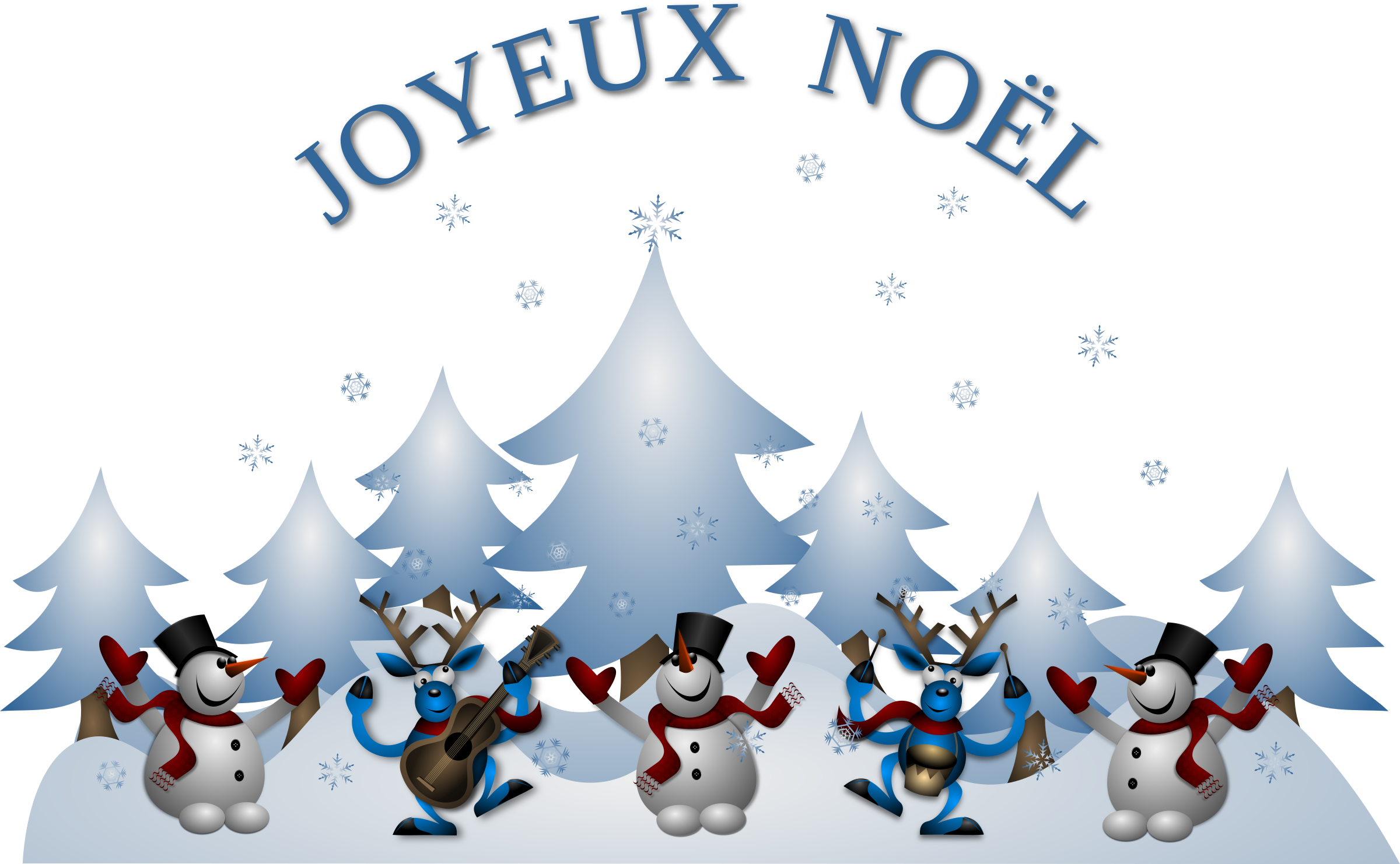 HD This Free Icons Png Design Of Joyeux Noel Card Front.