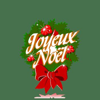 Joyeux Noël transparent PNG.