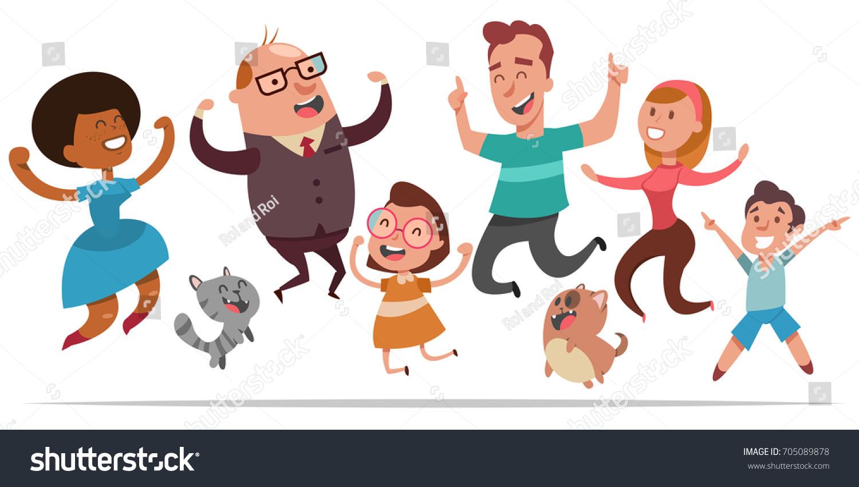 Joyful People Clipart & Free Clip Art Images #21659.