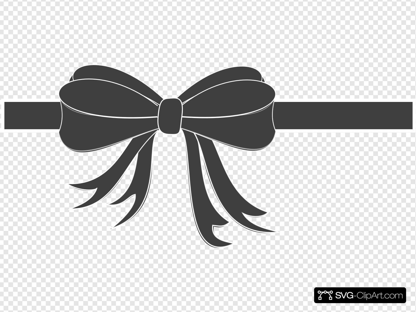 Tiff Bow Clip art, Icon and SVG.
