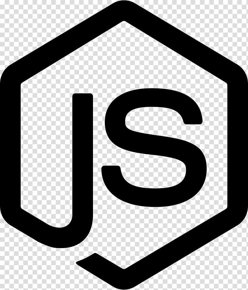 Node.js JavaScript Express.js AngularJS, Random icons.
