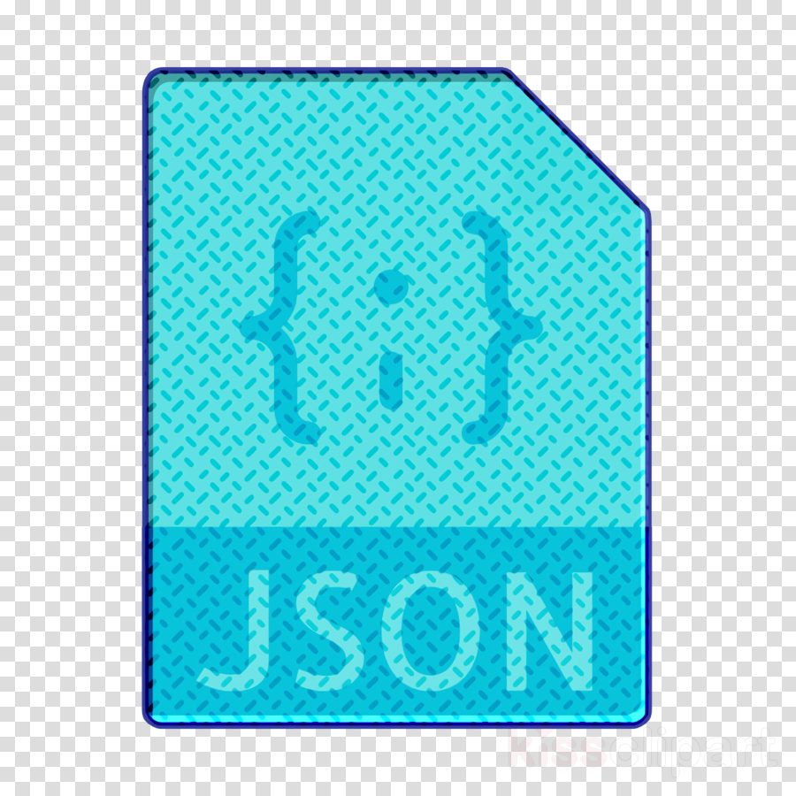 File Types icon Json file icon clipart.