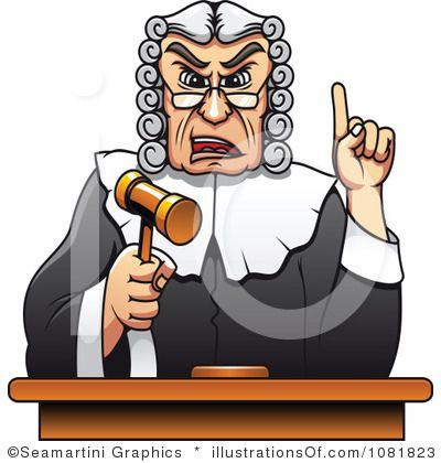 Judges Clipart.