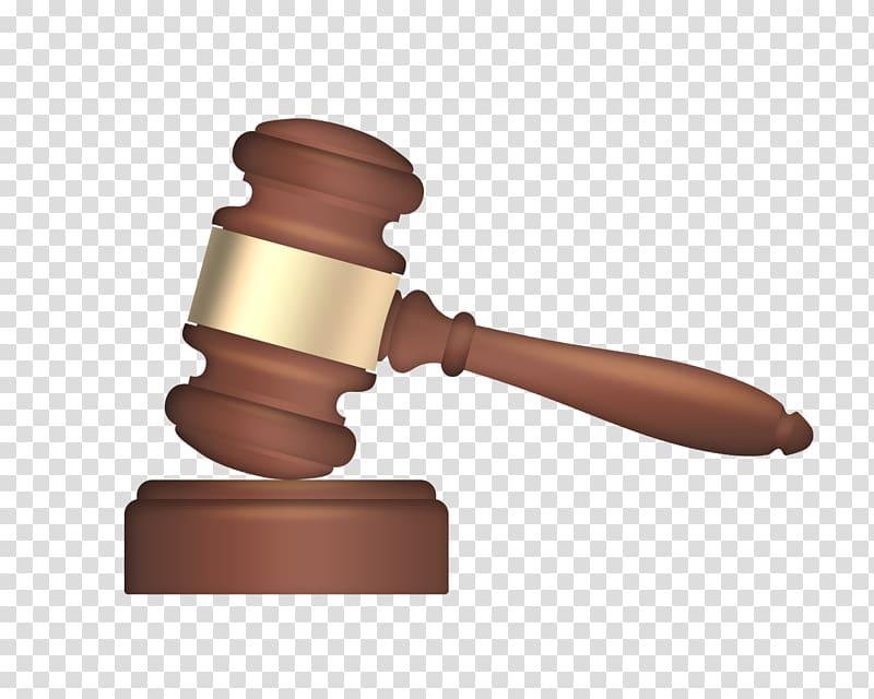 Gavel , Judge hammer transparent background PNG clipart.