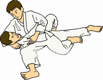 Judo clipart 9 » Clipart Station.