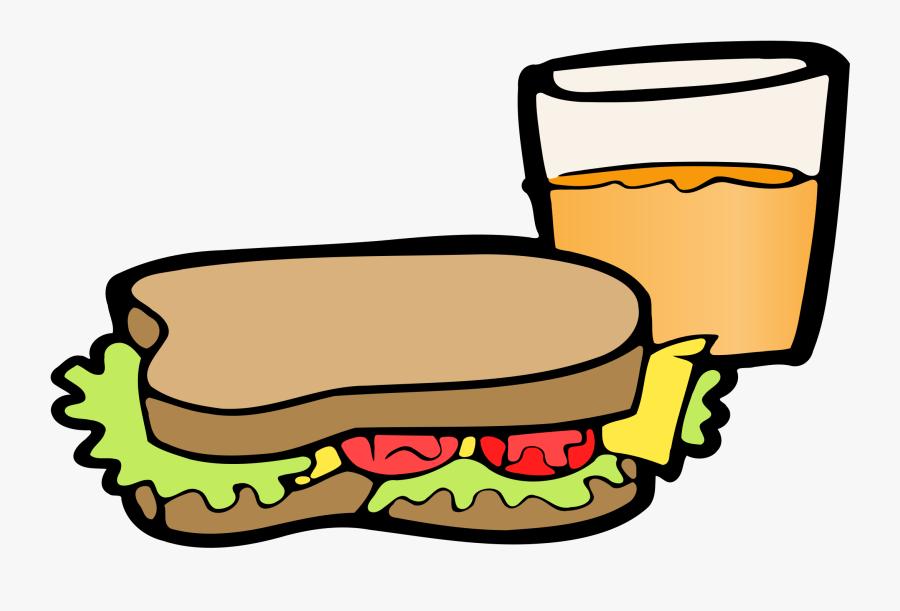 Luncheon Clipart Sandwich.