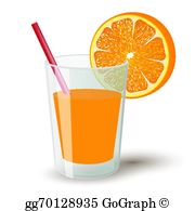 Orange Juice Clip Art.