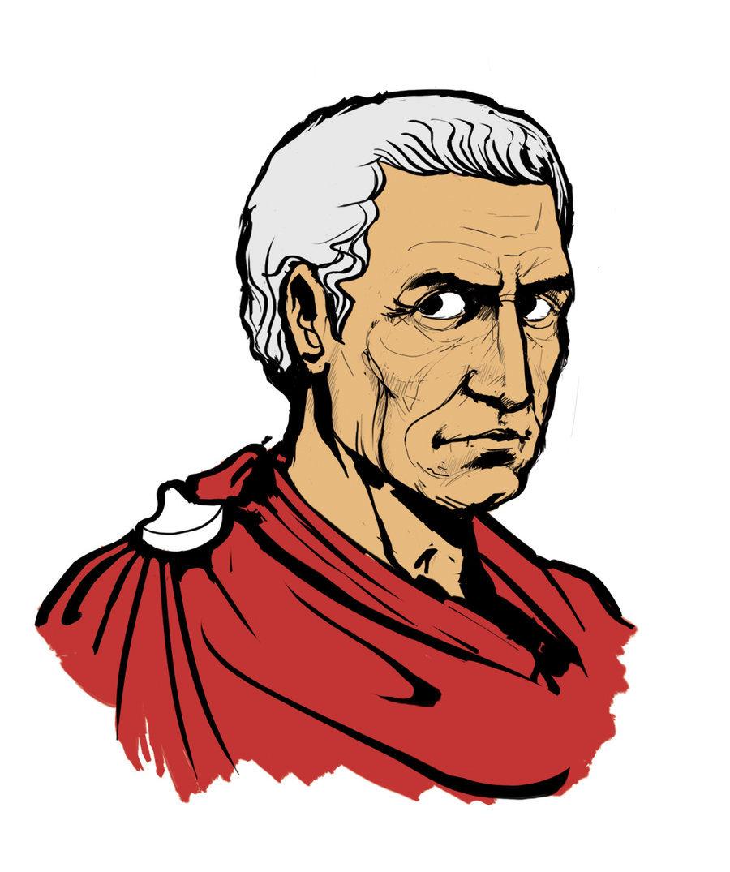 Julius caesar clip art.