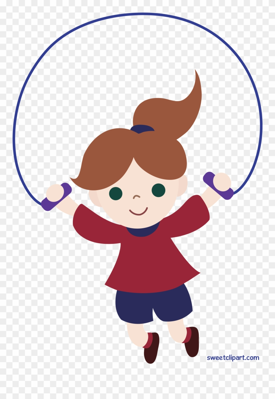 Clipart Girl Jumping Rope Clip Art Sweet.