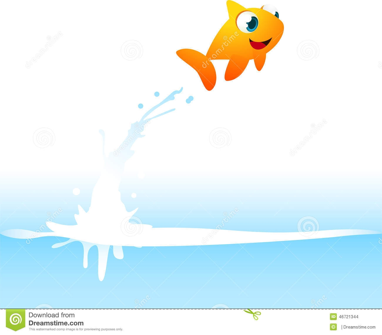 Fish Out Of Water Clipart.