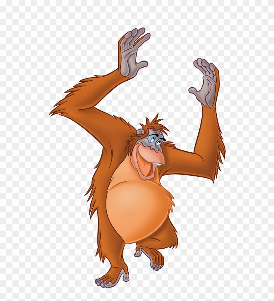 King Louie Jungle Book Png Clipart (#1089747).