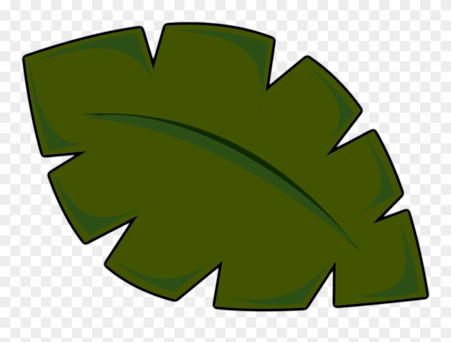 Clipart Of Jungle, Leaf And Scenic.