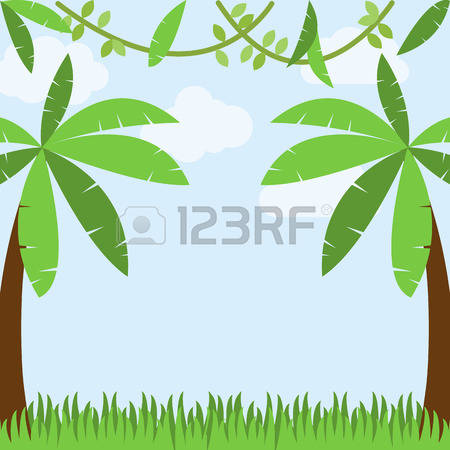 Jungle vines clipart 1 » Clipart Station.