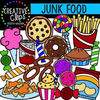 Junk Food {Creative Clips Digital Clipart}.