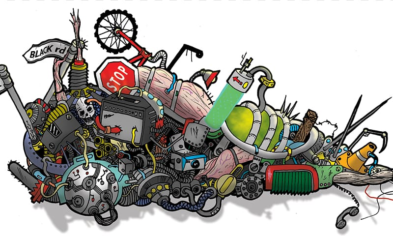 Waste Landfill , Junk Pile transparent background PNG.