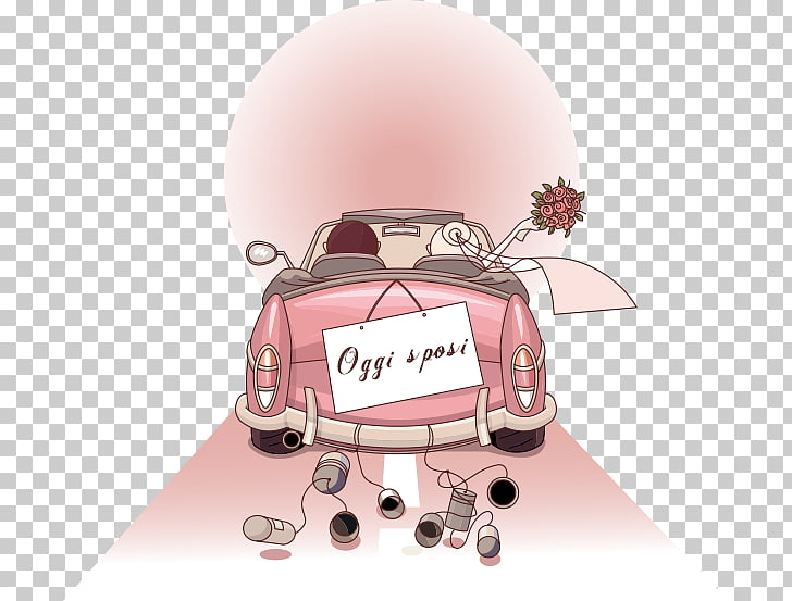 Wedding invitation Marriage , Just Married PNG clipart.